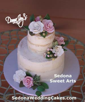Vegan & Gluten Free, Semi Naked Wedding Cake